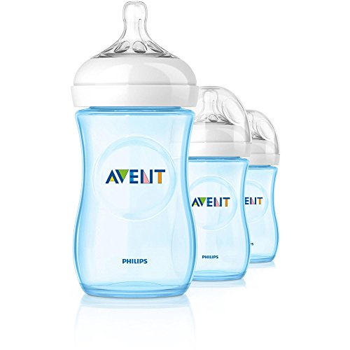 Philips Avent Natural Bottle 3 Pack - 9oz (Boy) - 1