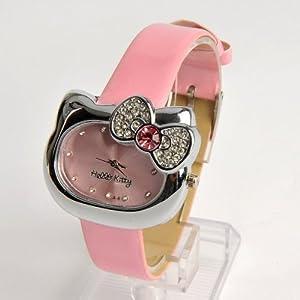 Hello Kitty Girls Wristwatch Wrist Watch Pink