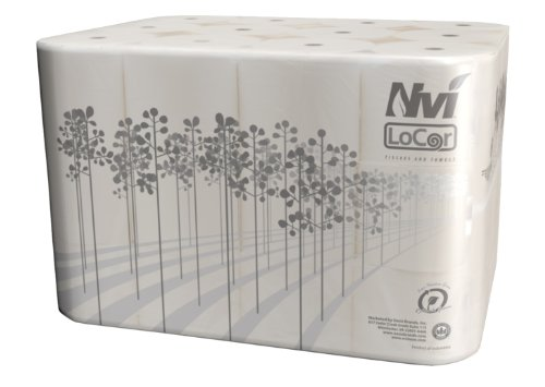 Solaris Paper 26821 Nvi LoCor Plain Bath Tissue, 2 Ply, 3.85