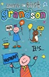 Simply the Best Grandson, Birthday Greetings Card