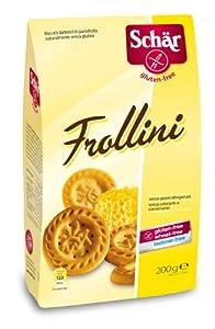 Schär Frollini - Mürbeteigkekse, 2er Pack (2 x 200 g Packung)