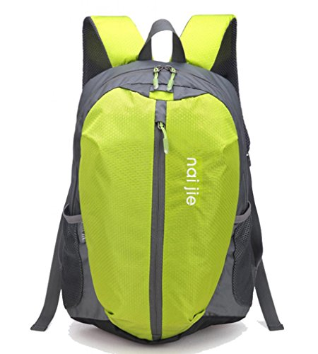 Zerd Casual Outdoor Waterproof Hiking Backpack Daypack 30L Green front-817111