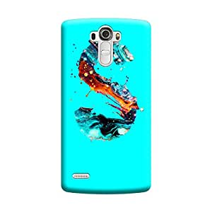 Digi Fashion Designer Back Cover with direct 3D sublimation printing for LG G4