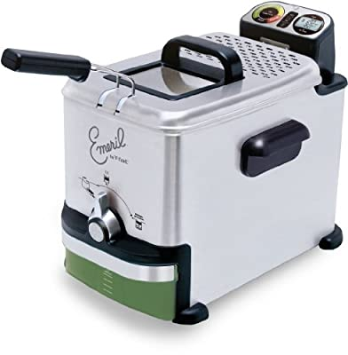 Emeril by T-fal FR7015001 Immersion Deep Fryer with Easy Clean System
