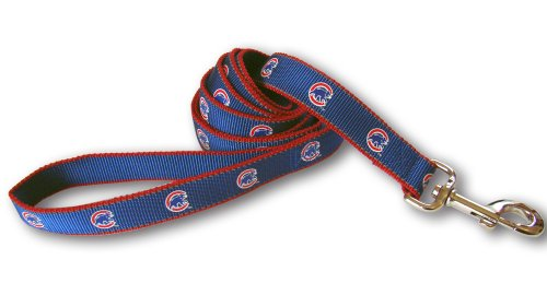 Sporty K9 Chicago Cubs Reflective Dog Leash, 6-Feet by 5/8-Inch at Amazon.com