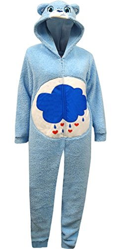 Care Bear Grumpy Bear Plus Size One Piece Pajama for women (2X) (Grumpy Bear Pajamas compare prices)