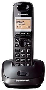 Panasonic KX-TG2511ET DECT Single Digital Cordless Phone Set - Black