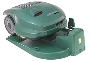 RoboMow RM400 Robotic Cordless Electric Lawn Mower with Docking Station, 25-Inch (Discontinued by Manufacturer)