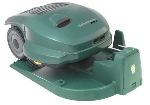 Images for RoboMow RM400 Robotic Cordless Electric Lawn Mower with Docking Station, 25-Inch