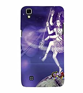 perfect print Back cover for LG X power