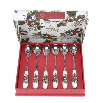 the-holly-ivy-tea-spoons-multi-colour-set-of-6