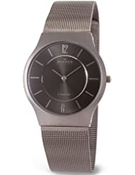 Skagen Mens 233LTTM Titanium Watch