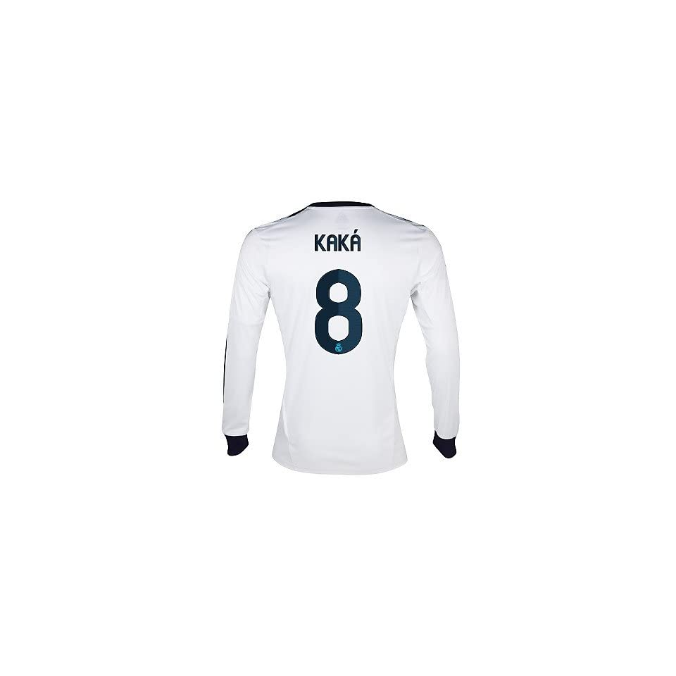 c45eccca3 Adidas KAKA  8 Real Madrid Home Jersey Long Sleeve 2012 13 on PopScreen