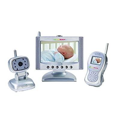 "Summer Infant Complete Coverage Color Video Monitor Set with 7"" LCD Screen and 1.8"" Handheld Unit from Summer Infant, Inc."
