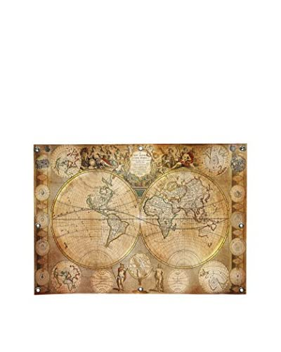 Ginger Antique Map #5 Canvas Wall Mural