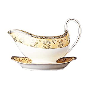 Amazon.com: Wedgwood India 0.6-Pint Gravy Boat: Kitchen & Dining