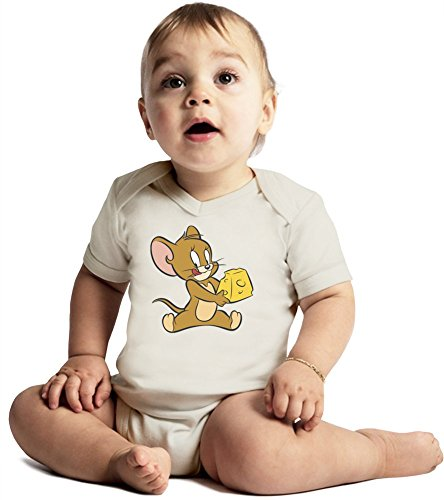 tom-and-jerry-mouse-and-cheese-amazing-quality-baby-bodysuit-by-true-fans-apparel-made-from-100-orga