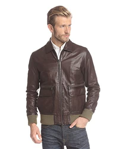 Jack Spade Men's Morton Leather Bomber