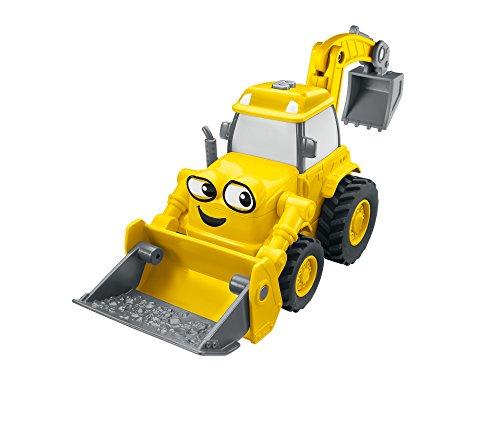 Fisher-Price DVR59 Bob der Baumeister Sprechender Baggi, Spielzeugfigur