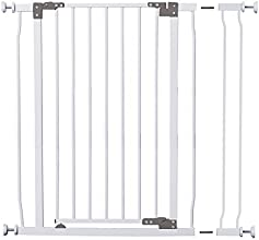 Dreambaby L768 Liberty Tall Gate Combo Pack - includes 1 X 35quot Extension White