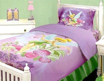 Disney Tinkerbell Neverland - Fairies Twin Comforter Bed Set
