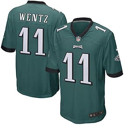 Carson Wentz Philadelphia Eagles Nike 2016 Draft Pick Game Jersey - Green