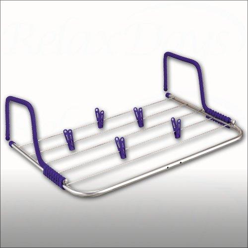 handtuchhalter ausverkauf mobiler w schetrockner f r balkon und heizung zum einh ngen 50 cm. Black Bedroom Furniture Sets. Home Design Ideas