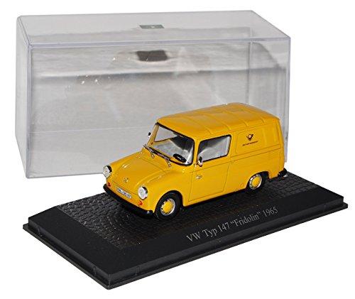 vw-typ-147-fridolin-deutsche-post-1965-gelb-1-43-atlas-sonderangebot-modell-auto