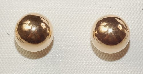 14k Gold Filled Ball Earring