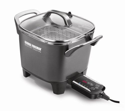 George Foreman RC0010B Smart Kitchen 30-Cup Digital Multicooker with Sear Setting (Variable Temperature Slow Cooker compare prices)