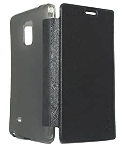 Royal Rusi - Black Caidea Flip Cover , Otg Cable, USB Charger For Samsung Galaxy E7