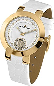 Jacques Lemans Damen-Armbanduhr Milano Analog Leder 1-1684C