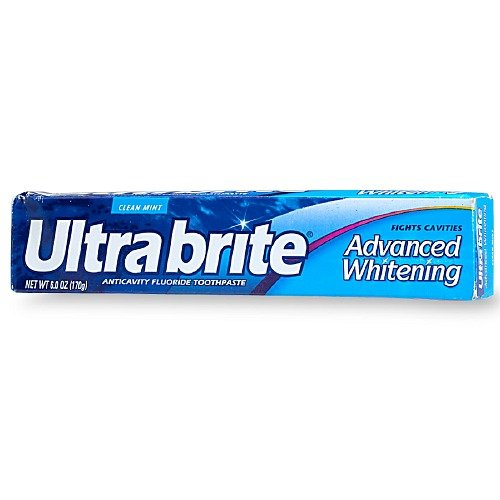 Ultrabrite Clean Mint All In One Advanced Whitening Toothpaste 6 Oz (6 Pack) front-811782