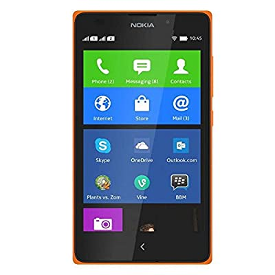 Nokia  XL (Orange, Dual SIM)