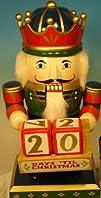 Chubby King Nutcracker with Countdown Calendar