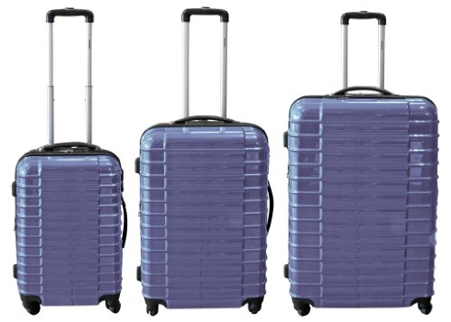 Polycarbonat ABS Trolley Kofferset Q 3 tlg in