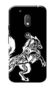 Moto G Play 4th Gen Cover KanvasCases Premium Quality Designer Printed 3D Lightweight Slim Matte Finish Hard Case Back Cover for Moto G Play, 4th Gen + Free Mobile Viewing Stand