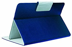 SUNYEE (TM) Universal 9-inch Faux leather Folio Stand Flip Protection Guard carrying Case Cover with magnet button For 9-inch Android Tablet PC (SUNYEE Blue)