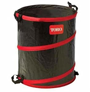 Toro 29210 43 gallon gardening spring bucket garden border edging patio lawn - Collapsible garbage can ...