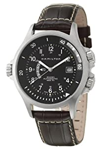 Hamilton Men's H77615833 Khaki Navy GMT Automatic Watch by Hamilton