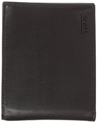 Tumi Men's Delta Global Double Billfold, Black, One Size