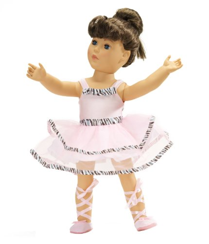 Fits American Girl Ballet Outfit - 18 Inch Doll Clothes/clothing Includes 18