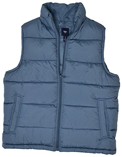 gap-mens-full-zip-snap-side-pockets-outerwear-puffer-vest-slate-blue-x-small