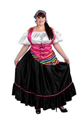 Coslove Senorita Plus Size Adult Costume