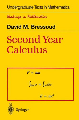 Second Year Calculus From Celestial Mechanics to Special Relativity Undergraduate Texts in Mathematics Readings in Mathematics
