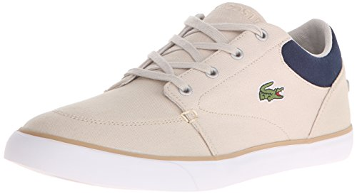 Lacoste Men's Bayliss 116 2 Fashion Sneaker, Natural/Navy, 9 M US