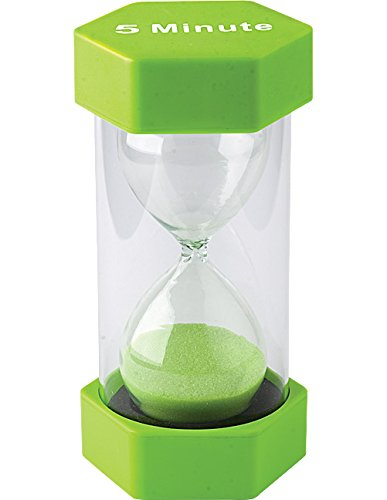 Teacher Created Resources 5 Minute Sand Timer - Large (20660) (Hourglass Timers compare prices)