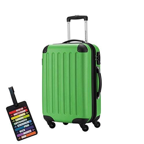 HAUPTSTADTKOFFER® Valigie · 49.0 liters (ca. 55 x 37 x 22 cm) · TSA BLOCCO · più colori (Verde)