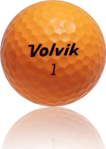 volvik vista iv 4 piece golf ball pack of 12 yellow orange sporting goods outdoor recreation. Black Bedroom Furniture Sets. Home Design Ideas