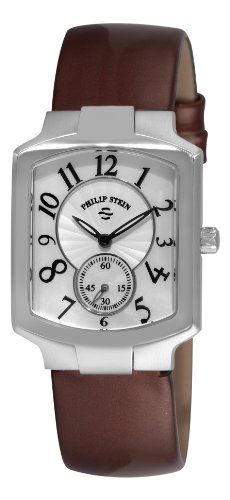 Philip Stein Signature Classic Tank Ladies Chocolate Strap Watch 21-FMOP-LCH